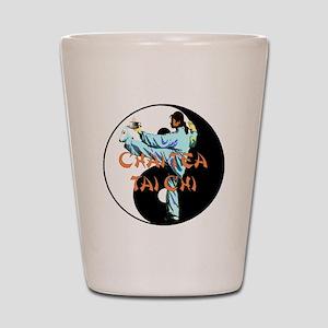 Chai Tea Tai Chi 2 Shot Glass