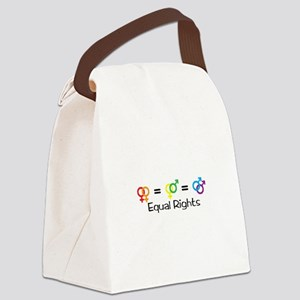 Equal Rights Canvas Lunch Bag