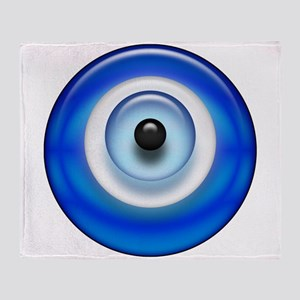 Evil Eye Throw Blanket