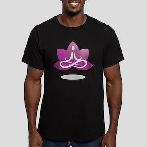 purple 5 Men's Fitted T-Shirt (dark)