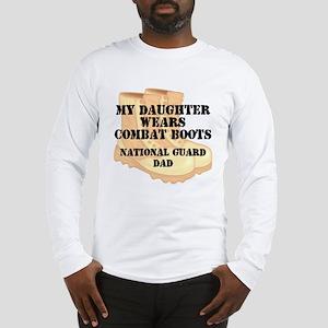 National Guard Dad Daughter Desert Combat Boots Lo