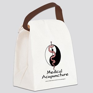 Medical Acupuncture Canvas Lunch Bag