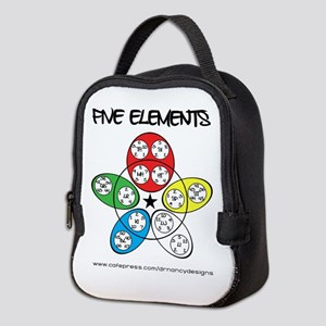 Five Elements Neoprene Lunch Bag