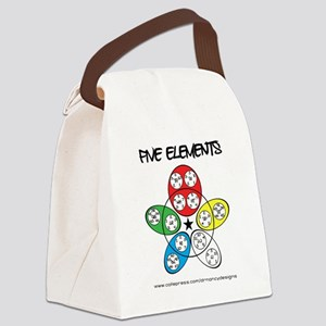 Five Elements Canvas Lunch Bag