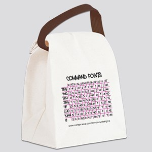 Command Points Canvas Lunch Bag