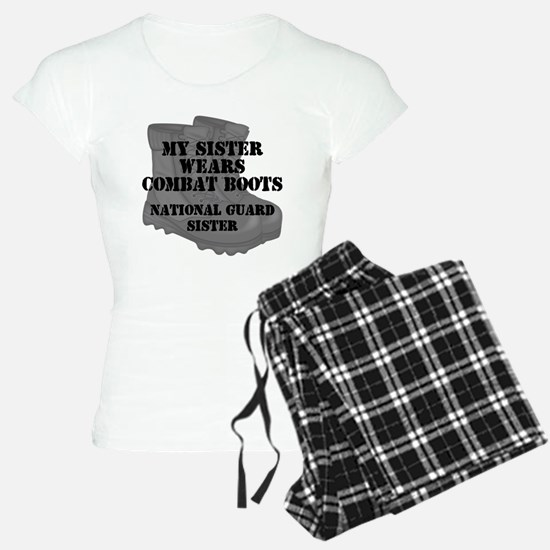 National Guard Sister Combat Boots Pajamas