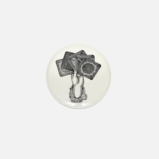 Fortune's Hand Mini Button