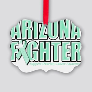 Arizona Ovarian Cancer Fighter Picture Ornament