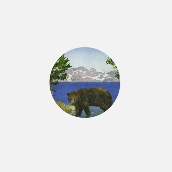 Unique Lake tahoe Mini Button
