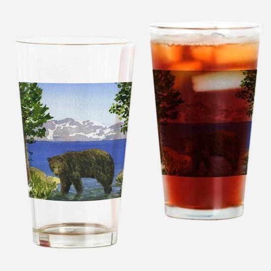 Cool Lake Drinking Glass