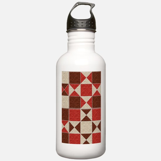 Felted Quilt Water Bottle