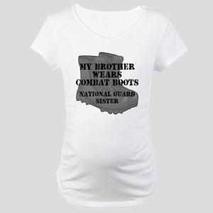 National Guard Sister Brother Combat Boots Materni