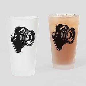 Camera - Photographer Drinking Glass