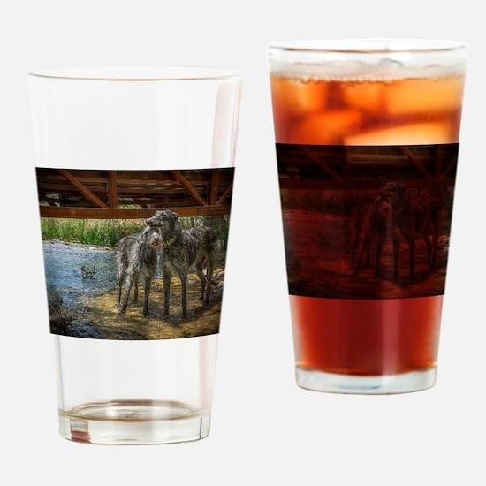 Under The Bridge Drinking Glass