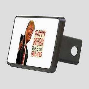 Happy Birthday Rectangular Hitch Cover