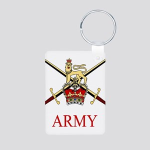 British Army Aluminum Photo Keychain
