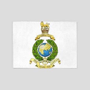 Royal Marines 5'x7'Area Rug