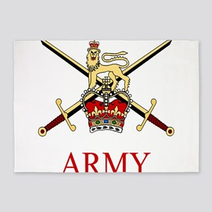 British Army 5'x7'Area Rug