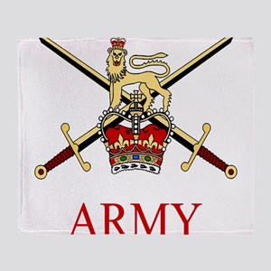 British Army Throw Blanket