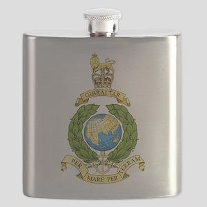 Royal Marines Flask