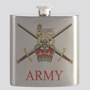 British Army Flask
