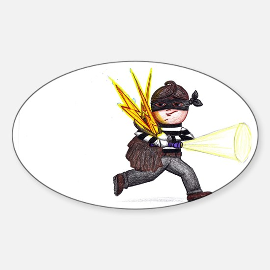 Lightning Thief Sticker (Oval)