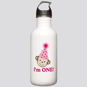 Im ONE Monkey Girl Stainless Water Bottle 1.0L