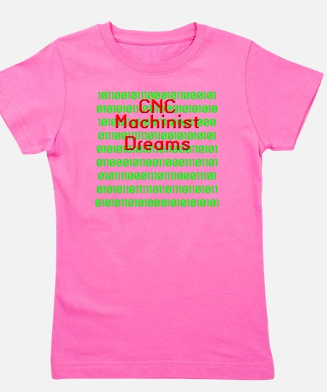 funny cnc machinist Girl's Tee