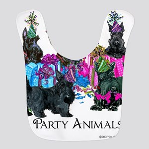 Scottish Terrier Party Animals Bib