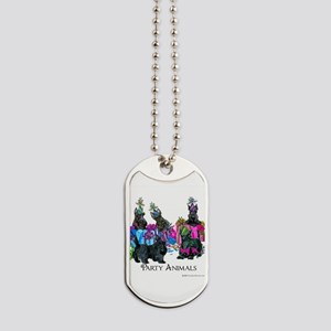 Scottish Terrier Party Animals Dog Tags