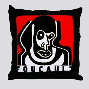 FOUCAULT philosophy Throw Pillow