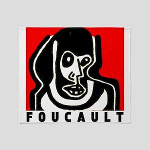 FOUCAULT philosophy Throw Blanket