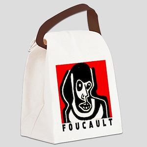 FOUCAULT philosophy Canvas Lunch Bag