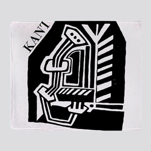 KANT philosopher Throw Blanket
