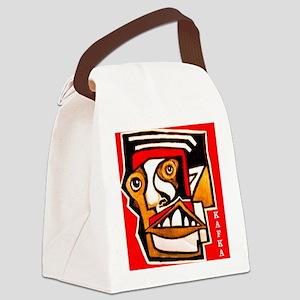KAFKA writer Canvas Lunch Bag