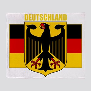 Germany COA 2 (B) Throw Blanket
