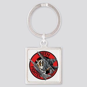 120th_fS_f-16_falcon Square Keychain