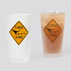rs_T-REX X-ING Drinking Glass