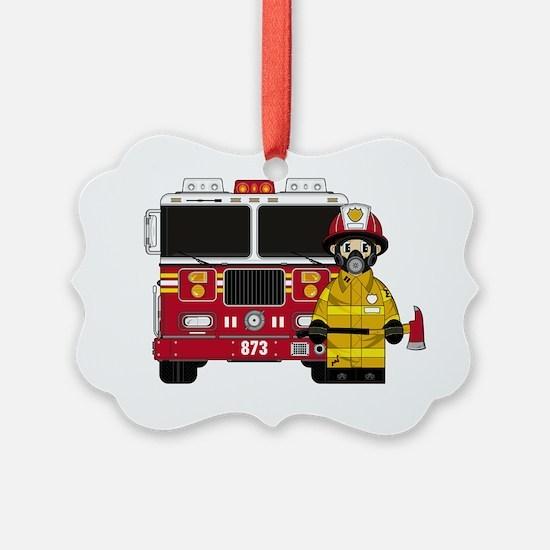 Fireman Pad5 Ornament