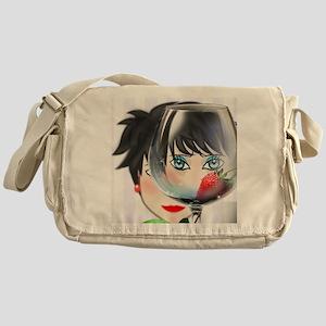avatar helen, glass Messenger Bag
