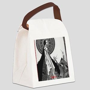 Ligiea by Edgar Allan Poe Canvas Lunch Bag