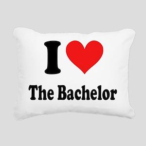 I Heart The Bachelor Rectangular Canvas Pillow