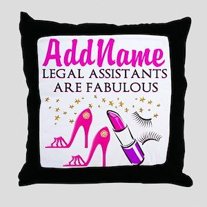 CUSTOM LEGAL ASST Throw Pillow