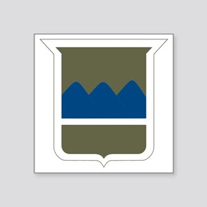 """80th Infantry Division Square Sticker 3"""" x 3"""""""