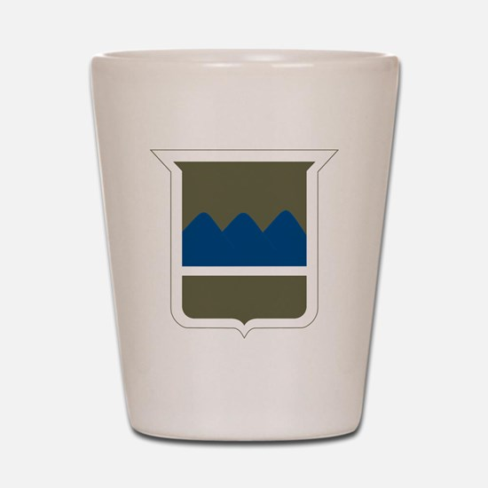 80th Infantry Division Shot Glass