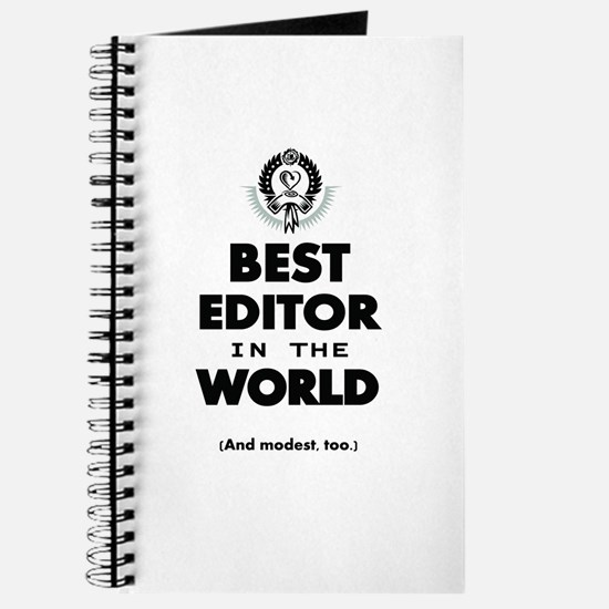 The Best in the World – Editor Journal