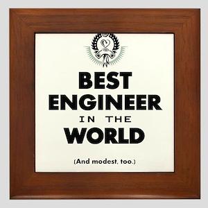 The Best in the World – Engineer Framed Tile