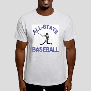 All-State Baseball Ash Grey T-Shirt