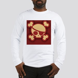 Billy-roger-red-CRD Long Sleeve T-Shirt