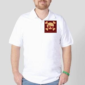 Billy-roger-red-OV Golf Shirt